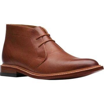 Bostonian Men's No16 Soft Chukka Boot Tan Full Grain Leather