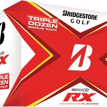 Bridgestone 2020 TOUR B RX Golf Balls - Triple Dozen