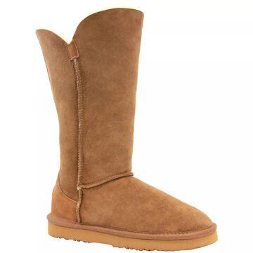 Lamo Suede and Sheepskin Boots - Liberty 12