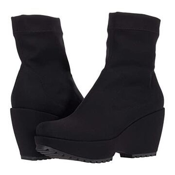 Pedro Garcia Fandy (Black Two-Way Stretch) Women's Shoes