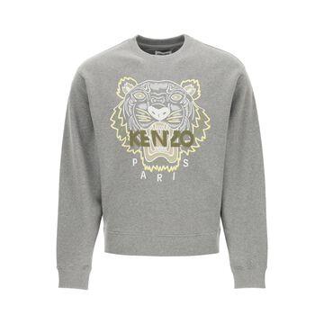 Kenzo Crewneck Sweatshirt With Tiger Embroidery