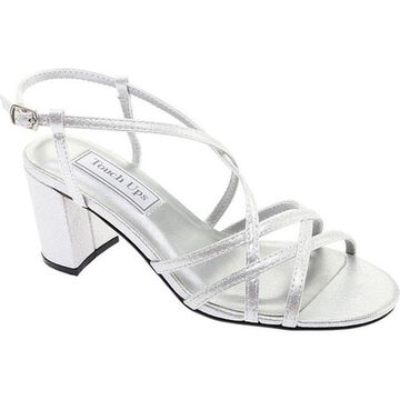 Touch Ups Women's Eva Strappy Sandal Silver Shimmer