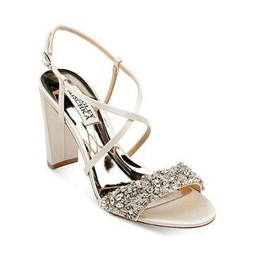 Badgley Mischka Women's Carolyn Crystal Embellished High-Heel Sandals