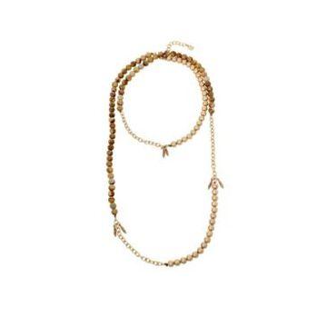 Robert Lee Morris Soho Women's Jasper Long Station Necklace