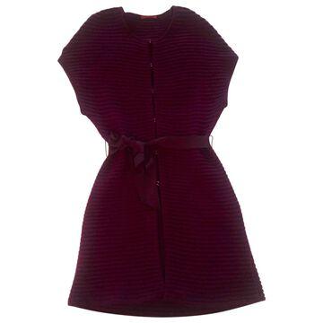 Carolina Herrera Purple Wool Knitwear