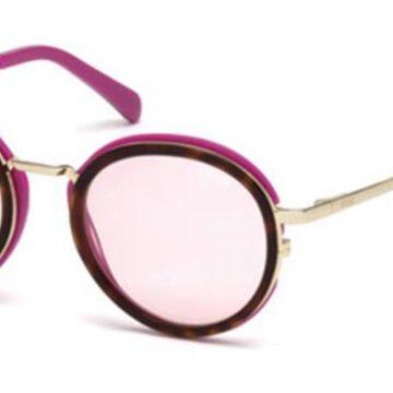 Emilio Pucci EP0046-O 55Y Womenas Sunglasses Tortoise Size 49