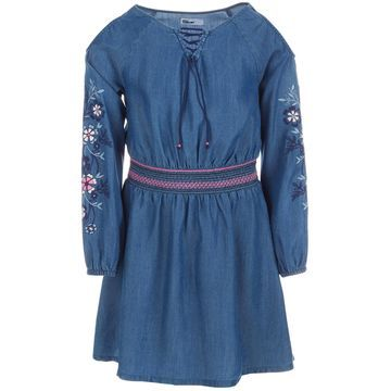 Toddler Girls Embroidered Cold Shoulder Dress, Created for Macy's