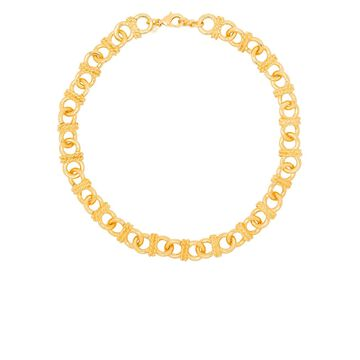 Infinity chain-link necklace