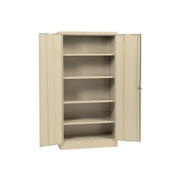 Sandusky Quick Assembly Steel Storage Cabinet - Light Grey (36