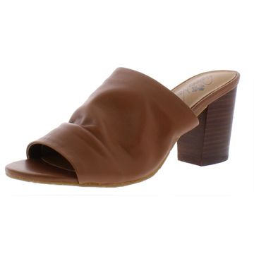 Patricia Nash Womens Poema Leather Slouchy Mule Sandals