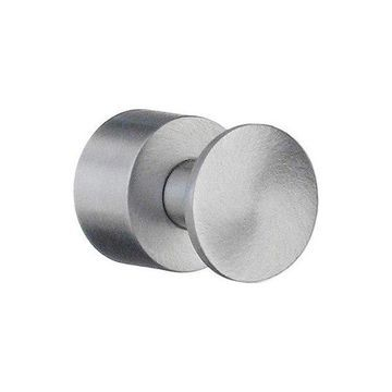 Smedbo RS3455 House 3/4 Wall Mount Single Towel Hook In Brushed Chrome