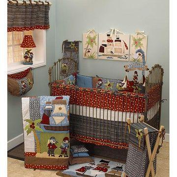 Cotton Tale Pirate's Cove 4-piece Crib Bedding Set