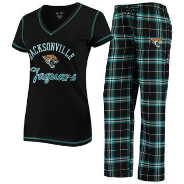 Women's Jacksonville Jaguars Concepts Sport Black Duo Sleep Set