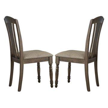 Liberty Candlewood Slat Back Side Chairs, Set of 2