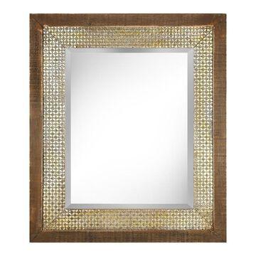 Imax Ridwana Rectangular Framed Wall Mirror