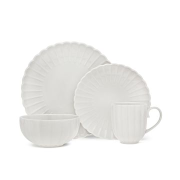Coquille 16-Pc. Dinnerware Set, Service for 4
