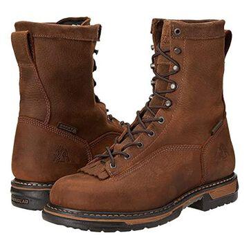 Rocky 8 Ironclad Soft Toe WP (Brown) Men's Shoes