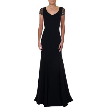Theia Womens Formal Dress Embellished Full-Length - 4