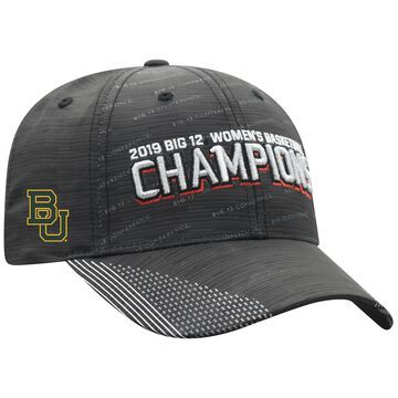 Baylor Bears Top of the World 2019 Big 12 Women's Basketball Conference Tournament Champions Adjustable Hat - Black