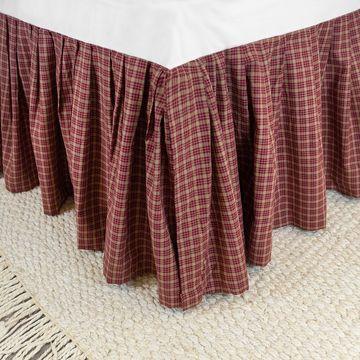 Donna Sharp Campfire Plaid Bedskirt