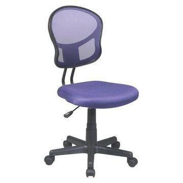 Mesh Task Chair Purple - Office Star