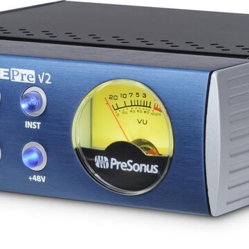 TubePre V2 Single-Channel Tube Preamplifier/DI Box