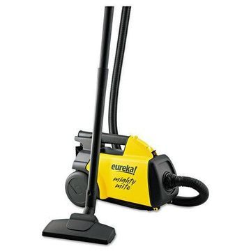 Electrolux EUR 3670G Lightweight Mighty Mite Canister Vacuum, 12A Motor, 8.2 Lb, Yellow