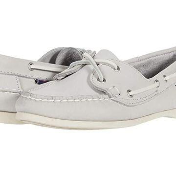 Sebago Jacqueline Nubuck (Light Grey) Women's Shoes