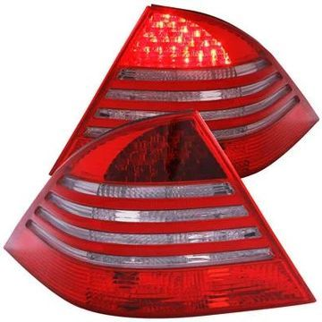 Anzo USA LED Tail Lights in Red/Smoke, LED Tail Lights - 321122