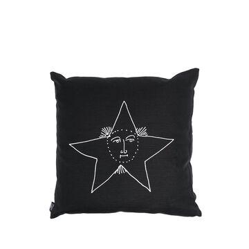 Solamente-print cushion