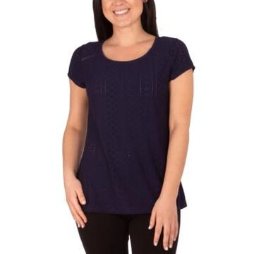 Ny Collection Petite Textured Top