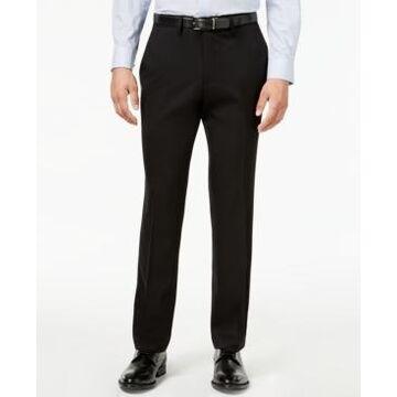 Kenneth Cole Reaction Men's Slim-Fit Stretch Gabardine Dress Pants