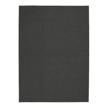 Garland Rug Town Square Solid Area Rug, Grey, 9X12 Ft