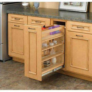 Rev-A-Shelf Base Cabinet Organizer Pull Out Pantry