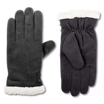 Women's isotoner Recycled Microsuede Water Repellent Gloves