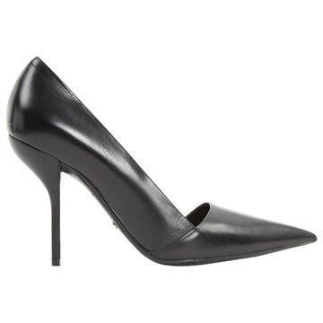 Dior Dior D-Stiletto Black Leather Heels