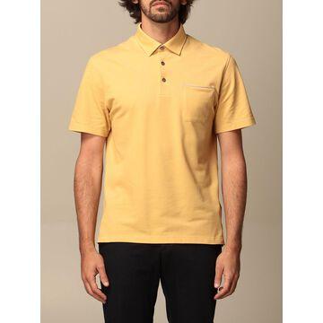 Ermenegildo Zegna cotton polo shirt with patch pocket