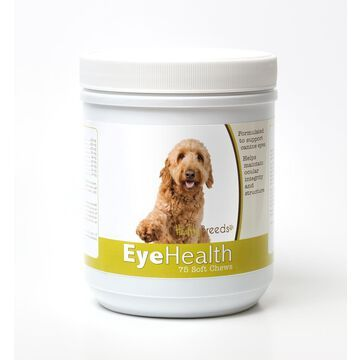 Healthy Breeds 840235144861 Goldendoodle Eye Health Soft Chews - 75 Count