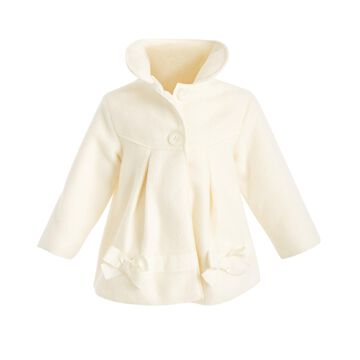 Baby Girls Bow-Trim Jacket, Created for Macy's