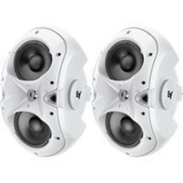 ''Electro-Voice EVID 6.2 Dual 6'''' Two-Way Surface-Mount Loudspeaker, Pair, White''