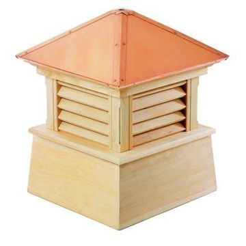 Good Directions Manchester 93-Inch Cupola in Natural/Copper