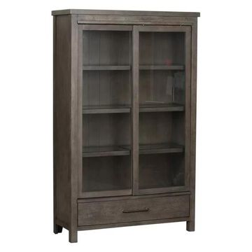Liberty Furniture Modern Farmhouse Display Cabinet