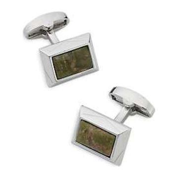 Egara Green & Silver Cufflinks
