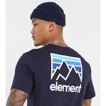 Element Joint t-shirt in navy Exclusive at ASOS