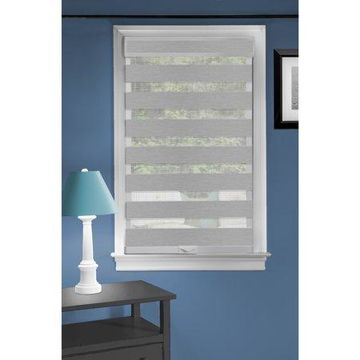 Achim Cordless Celestial Sheer Light Filtering Double Layered Shade