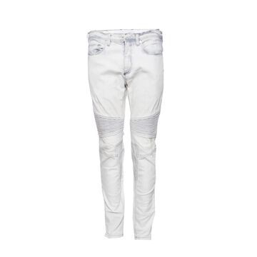 Neil Barrett White Cotton - elasthane Jeans