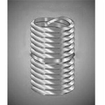 Recoil 15084MA Tanged Screw-Locking Coil Threaded Insert, M8 x 1.25 Metric Coarse, 2D/16 mm Length, 304 SST (100 PK)