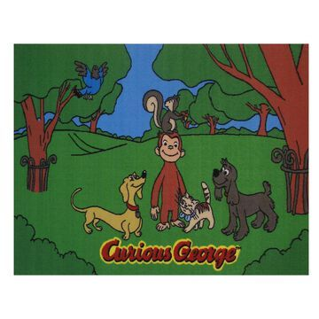 Fun Rugs Curious George & Friends Rug - 4'3'' x 6'6''