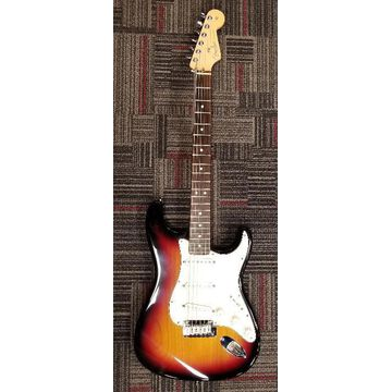 Used 2004 2004 FENDER 50TH ANNIVERSARY STRATOCASTER Solid Body Electric Guitar Vintage Sunburst