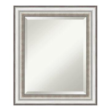 Amanti Art Salon Framed Bathroom Vanity Wall Mirror